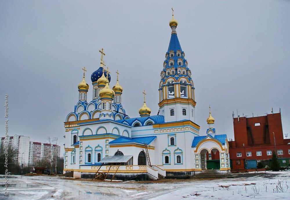 Храм иконы неувядаемый цвет в москве