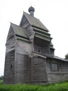 Георгиевская церковь в деревне Родионово (бывший погост Юксовичи) Подпорожского района Ленинградской области.