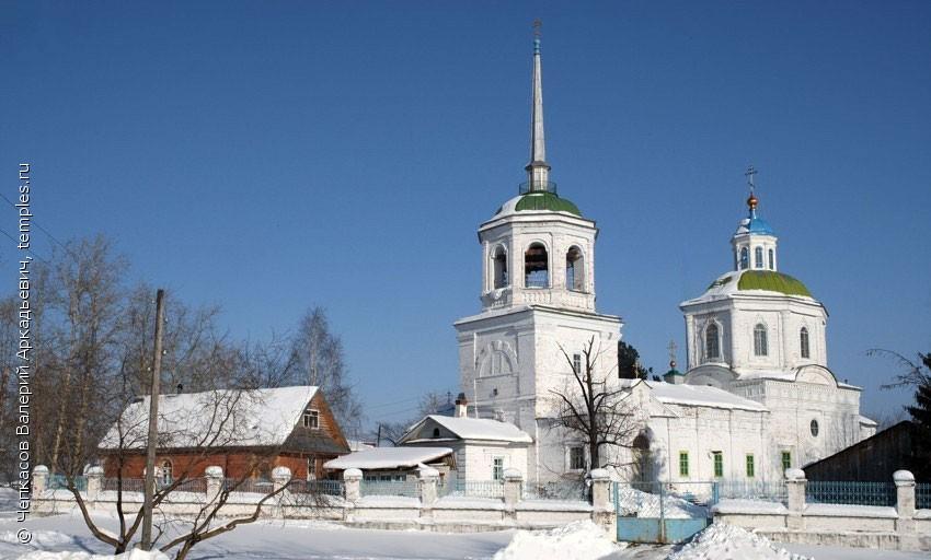 Церковь Похвалы Пресвятой Богородицы в пос. Орёл