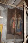 Фрагмент росписи Казанской церкви в Заозерье Угличского района Ярославской области.