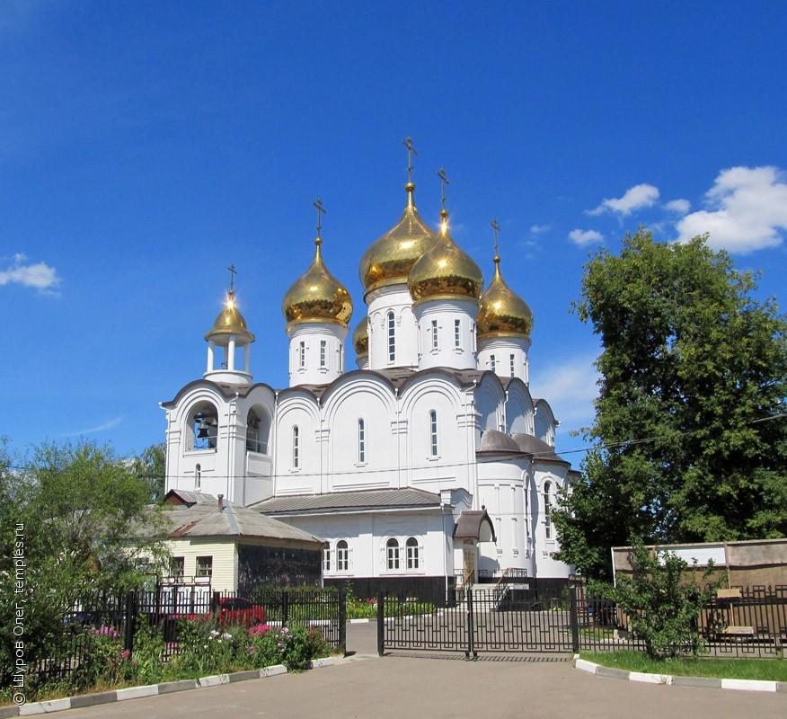 Храм покрова пресвятой богородицы (ru) in zhukovsky city
