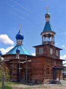Церковь Пантелеимона Целителя в Балыктуюле. Улаганский район, республика Алтай.