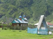 Церковь Николая Чудотворца в селе Коо Улаганского района республики Алтай.