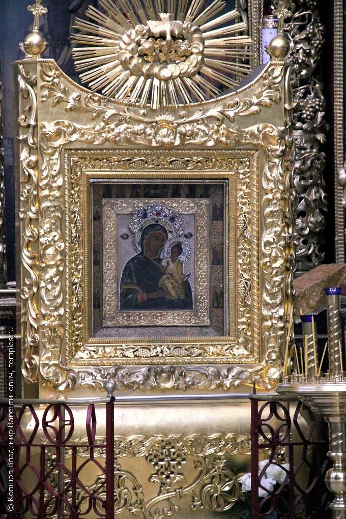 Иконы троицкого собора в пскове описание