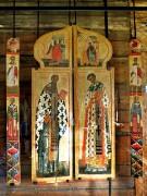 Фрагмент царских врат с образами Василия Кесарийского и Иоанна Златоуста из церкви Покрова Пресвятой Богородицы на Кижском Погосте.